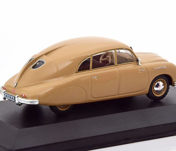 Tatra 600 Tatraplan 1948-1952 Beige 1-43 Whitebox Limited 1000 Pieces