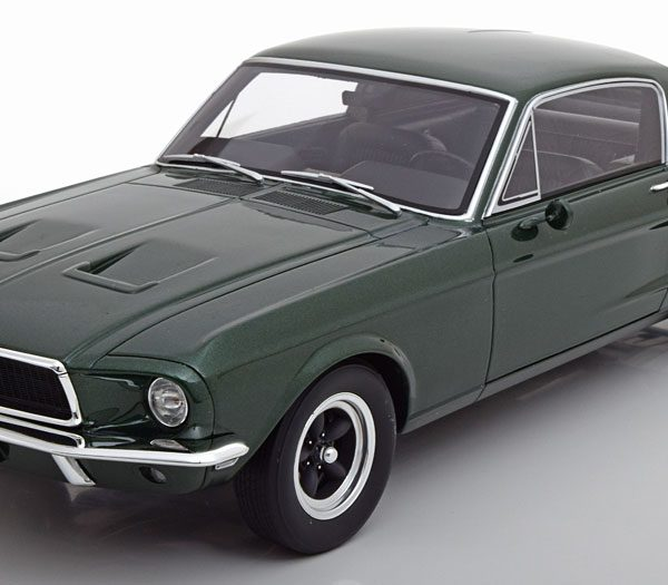 "Ford Mustang GT Steve McQuee 1968 ""Bullit"" Groen 1-12 GT Spirit ( Made For GMP/ACME ) Limited Resin"