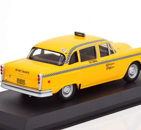 """Checker Taxi """"Film Taxidriver """" 1975 Geel 1-43 Greenlight Collectibles"""