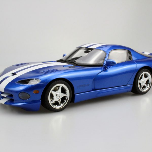 Dodge Viper GTS 1996 Blauw met witte strepen 1-18 LS Collectibles Limited 250 Pieces
