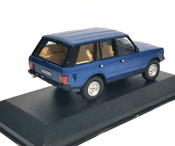Range Rover 1970 Blauw Metallic 1-43 Whitebox Limited 1000 Pieces