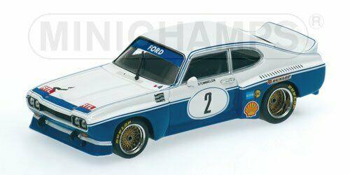 Ford Capri RS 3100 Eifenrennen DRM 1974 #2 Winner Div. 1 R.Stommelen 1-43 Minichamps Limited 2784 Pieces