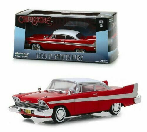 "Plymouth Fury 1958 ""Christine"" (1983) Movie Red 1/43 Greenlight Collectibles"