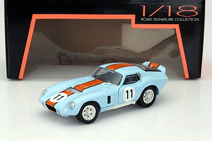 "Shelby Cobra Daytona Coupe 1965 Nr# 11 ""Gulf"" 1-18 Lucky Diecast"