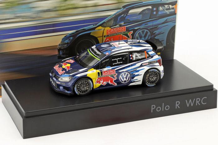 Volkswagen Polo R WRC #1 Rally Monte Carlo 2015 - Ogier, Ingrassia 1-43 Spark