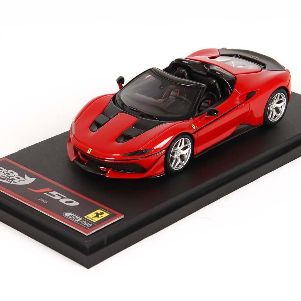 Ferrari J50 50th Anniversary Ferrari Japan 2016 Rood 1-43 BBR Models Limited 900 Pieces