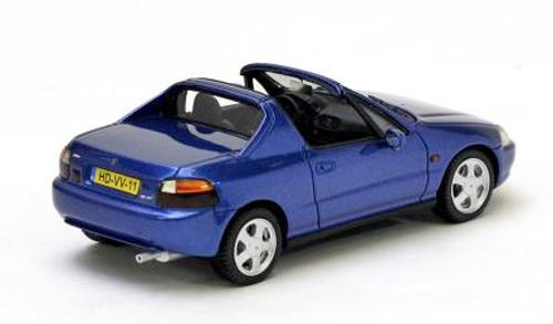 Honda CRX del Sol 1992 Blauw 1/43 Neo Scale Models
