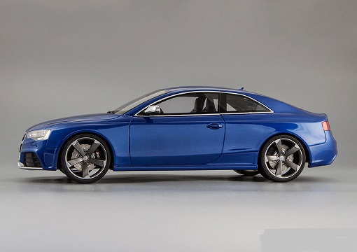 Audi RS5 Coupe 2012 Blauw 1-18 GT Spirit Limited 600 Pieces