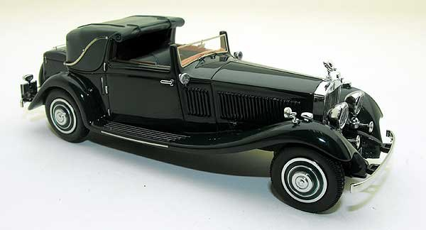 Rolls-Royce Phantom II Owen Sedanca Coupe J.Gurney Nuttig & Co Ltd. 71MW 1:43 Groen Neo Scale Models