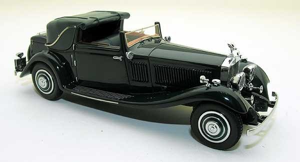 Rolls-Royce Phantom II Owen Sedanca Coupe J.Gurney Nuttig & Co Ltd. 71MW 1:43 Groen Neo Scale Models