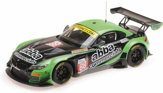 BMW Z4 GT3 #88 Team ABBA With RollCentre Racing British GT Championship 2016 Neary / Short 1:18 Minichamps Limited 252 Pieces