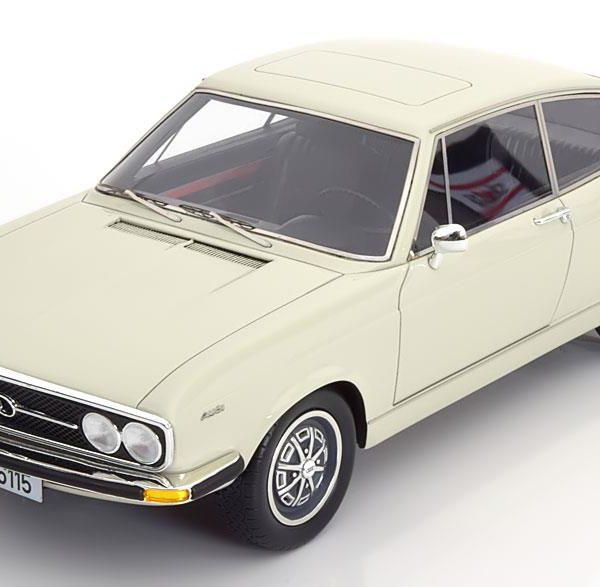 Audi 100 Coupe S 1970 Wit 1-18 KK Scale Limited 400 Pieces