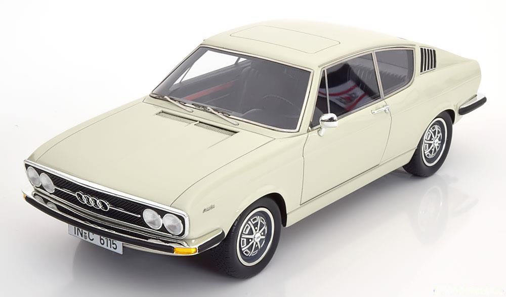Audi 100 Coupe S 1970 Wit 1-18 KK Scale Limited 400 Pieces