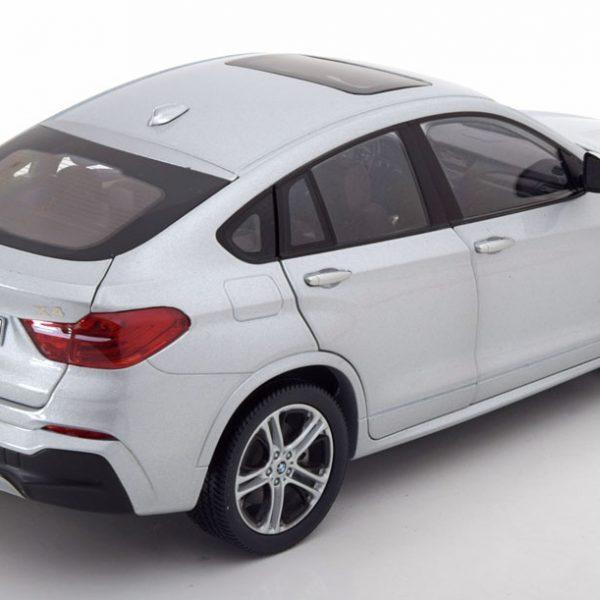 BMW X4 F26 2014 Zilver 1-18 Paragon Models
