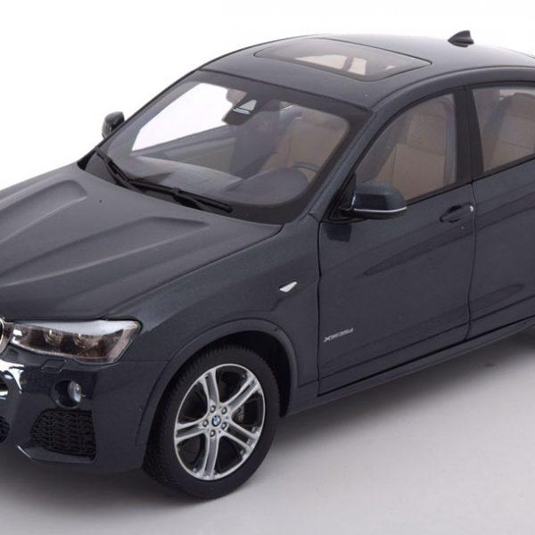 BMW X4 F26 2014 Antraciet 1-18 Paragon Models