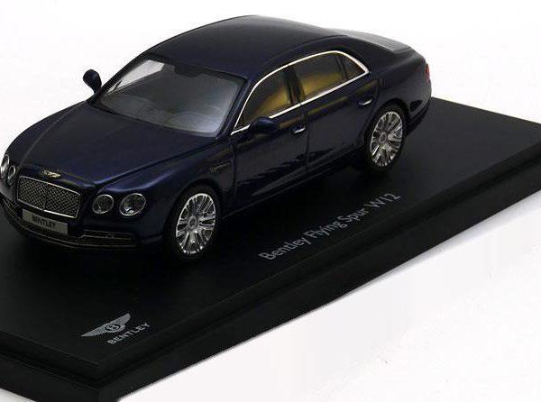Bentley Flying Spur W12 2012 ( Onyx - Donkerblauw Metallic ) 1-43 Kyosho