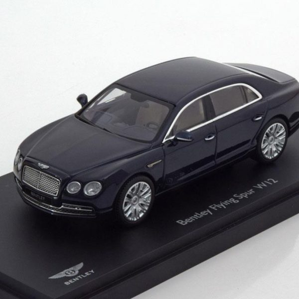 Bentley Flying Spur W12 Donkerblauw 1-43 Kyosho