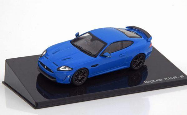 Jaguar XKR-S Coupe Blauw 1-43 Ixo Models