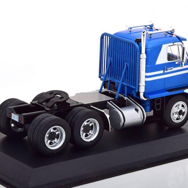 "International Harvester DCOF-405 1959 ""Emeryville"" Blauw / Wit 1-43 Ixo Models"