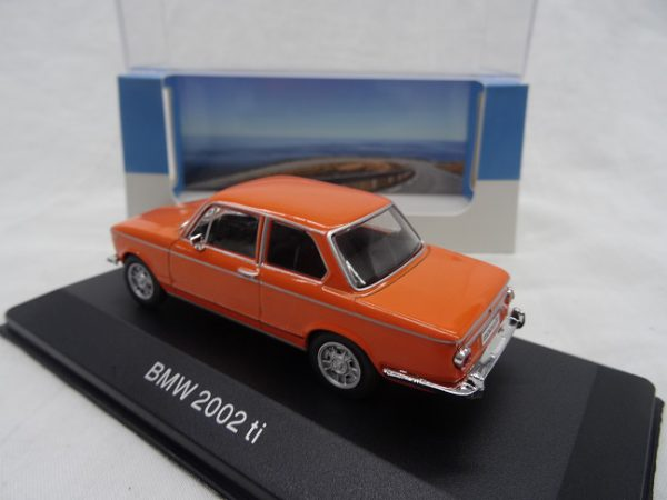 BMW 2002 Ti 1974 Oranje 1-43 Atlas Collections