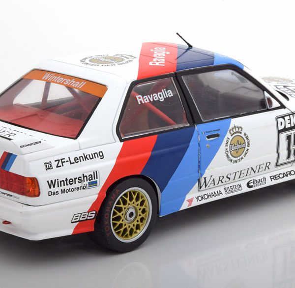 """BMW M3 E30 DTM Champion 1989 """"Warsteiner """"Ravaglia 1-18 Solido"""