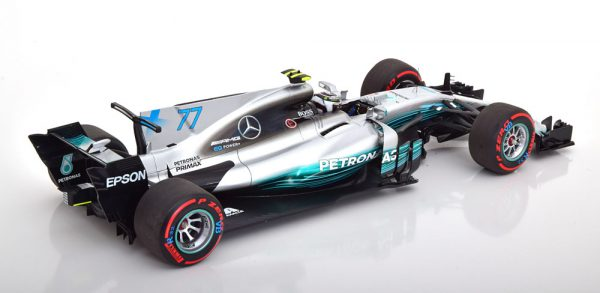 Mercedes AMG F1 W08 EQ Power+ GP Mexico 2017 V.Bottas 1-18 Minichamps Limited 300 Pieces