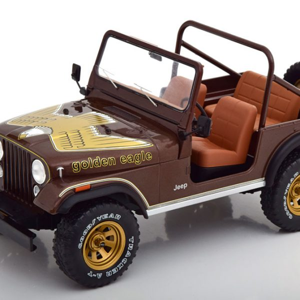Jeep CJ-7 Golden Eagle 1976 Bruin Metallic 1-18 MCG Models
