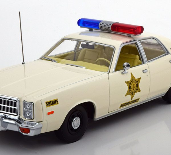 Plymouth Fury 1977 Hazzard County Sheriff 1:18 Greenlight Collectibles