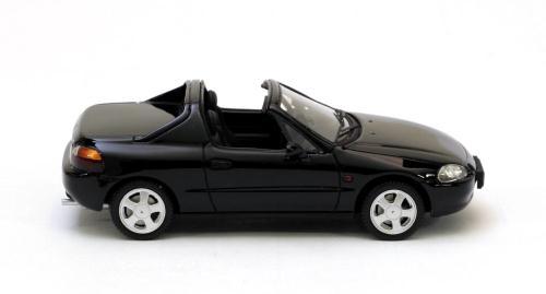 Honda Crx Del Sol 1992 Zwart 1-43 Neo Scale Models