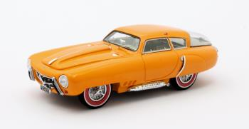 Pegaso Z102 PS 2.5 Cupola Coupe Geel 1953 Louwman Museum Collection 1-43 Matrix Scale Models