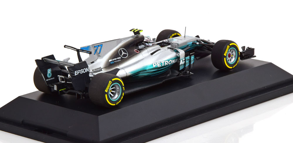 Mercedes AMG Petronas Motorsport F1 W08 EQ Power+2017 Valtteri Bottas 1-43 Minichamps ( Dealer )