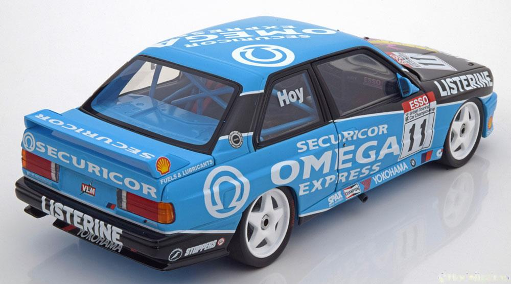 BMW M3 E30 No.11, BTCC Champion 1991 Hoy 1-18 Minichamps Limited Edition 666 pcs