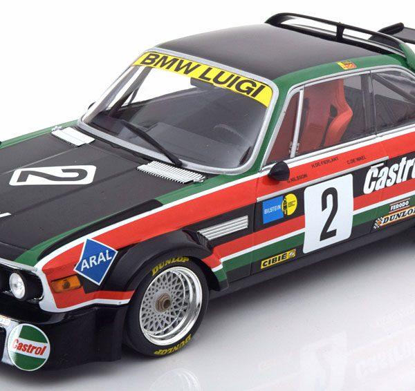 BMW 3.0 CSL No.2, Sieger GP Tourenwagen Nürburgring 1976 de Wael/de Fierlant/Nilsson 1-18 Minichamps Limited 804 Pieces