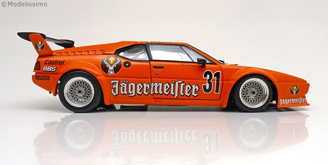 "BMW M1 Procar E26 No.31, DRT Nürburgring 1982 ""Jagermeister ""Konig 1-18 Minichamps Limited 2268 Pieces"