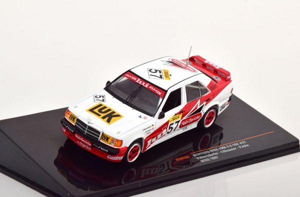 Mercedes-Benz 190 E 2.3 16V No.57, WTCC 1987 Oberndorfer/Klammer/John 1-43 Ixo Models