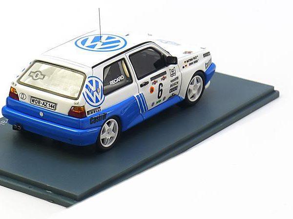 Volkswagen Golf II G60 Rally Nr# 6 6th Rally Costa Smeralda 1990 E.Weber / M.Feltz 1-43 Neo Scale Models