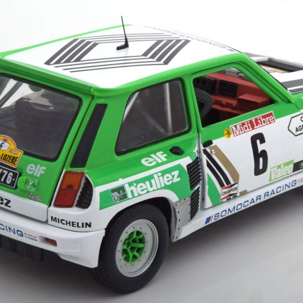 Renault 5 Turbo Gr.B No.6, Rally de Lozere 1985 Serpaggi/Legal 1-18 Solido