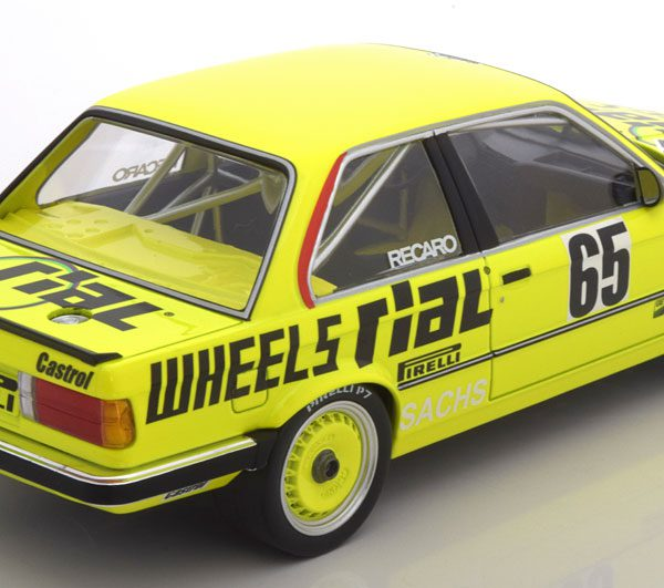 BMW 325i E30 No.65, 24h Nürburgring 1986 Hammelmann/Walterscheid-Müller/Trint 1-18 Minichamps Limited 350 Pieces