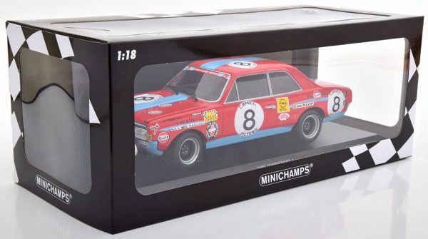 Opel Commodore A No.8, 24h Spa 1972 Tuerlinx/Pilette 1-18 Minichamps Limited 300 Pieces