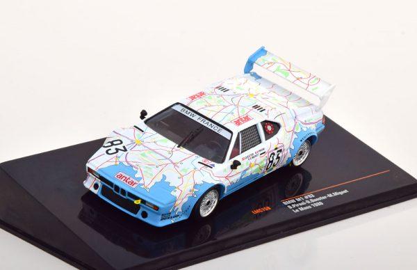 BMW M1 No.83, 24h Le Mans 1980 Pironi/Quester/Mignot 1-43 Ixo Models