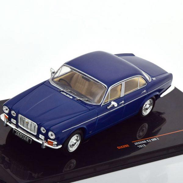 Jaguar XJ MKI RHD 1972 Donkerblauw 1-43 Ixo Models