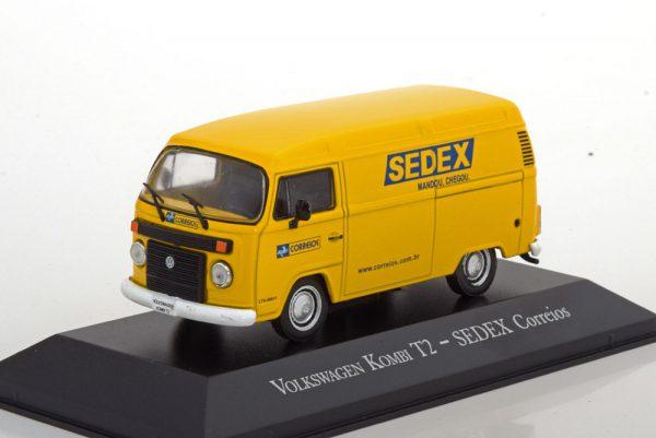 """Volkswagen Bus T2 """"Sedex"""" Geel 1-43 Altaya"""