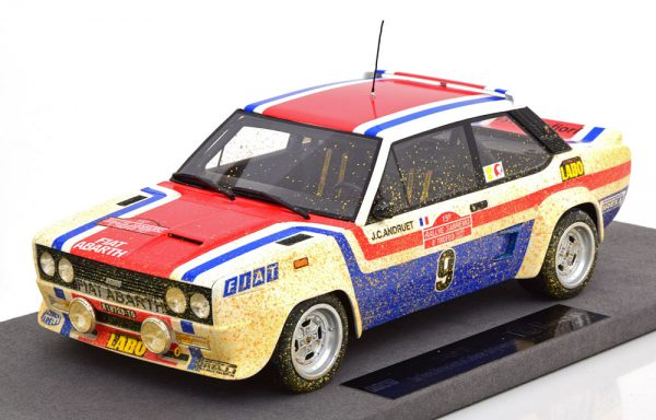 Fiat 131 Abarth Sieger Rally Sanremo 1977 ( Dirty Version ) Andruet/Delferrier 1-18 Top Marques