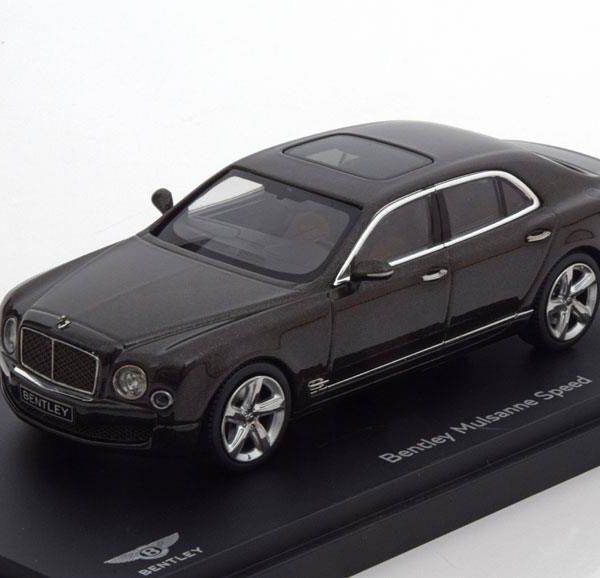 Bentley Mulsanne Speed 2014 Donkerbruin Metallic 1-43 Kyosho