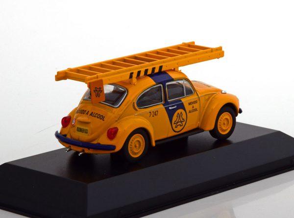 Volkswagen Kever Fusca Telesp Telefonia Geel / Blauw 1-43 Altaya
