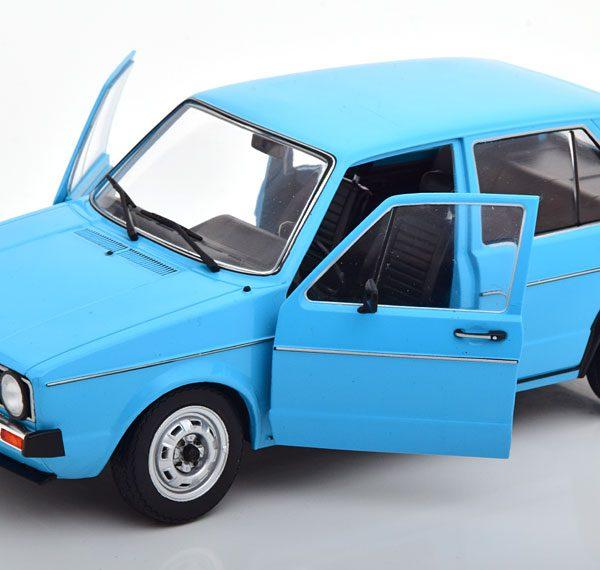 Volkswagen Gof I 1983 5 deurs 1:18 Miami Blue Solido