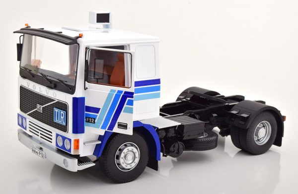 Volvo F1220 1977 Wit / Blauw 1-18 Road kings Limited 500 Pieces