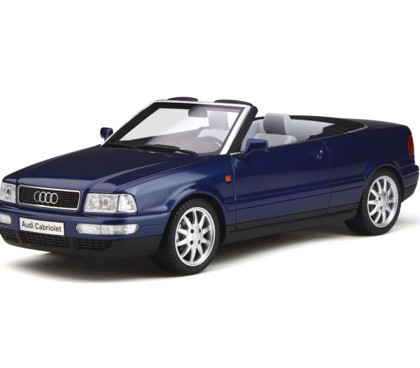 Audi 80 Cabriolet 1998 Blauw 1-18 Ottomobile Limited 999 Pieces