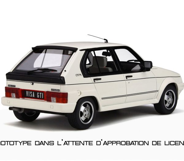 Citroen Visa GTi 1984 Wit 1-18 Ottomobile Limited 999 Pieces