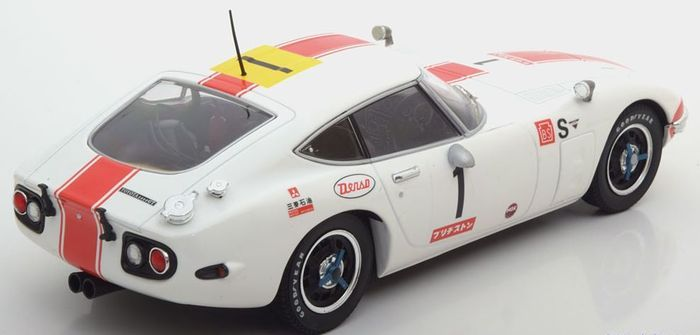 Toyota 2000GT 24 Hours Fuji #1 1:18 Tripel 9 Collection